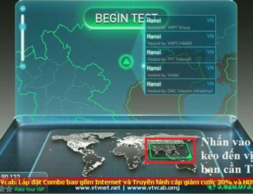 Kiểm tra tốc độ Internet đơn giản với Speed Test