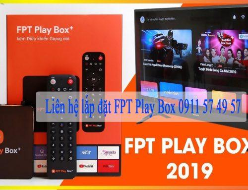 Lắp đặt FPT Play Box tại Đà Nẵng